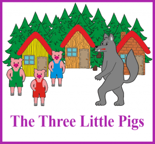 CD-The Three Little Pigs (1 jazyk EN)